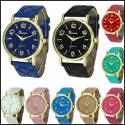 Kit 10 Relógios Feminino Barato Para Revenda Geneva Atacado frete grátis, compre para revender