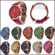 Relógio Feminino Barato Para Revenda Geneva Dourado Atacado, vendas no varejo