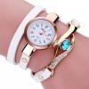 Kit 5 Relógios Pulseira De Couro, Com Pedra Vintage Feminino frete grátis