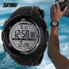 Relógio Digital Skmei 1025 Preto Bateria Cr2025 Importado