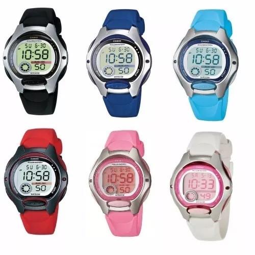 Relógio Casio feminino Alarme Cronômetro Prova D-agua Lw200 frete grátis