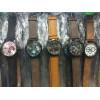 Kit 10 Relógio Couro Multimarcas - Caixinhas+ Brinde frete grátis