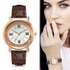 Relógio Feminino Dourado C/ Pedras Pedrinhas Visor Barato