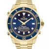 Relógio Technos Masculino Skydiver Dourado E Azul T205jd/4a com frete grátis