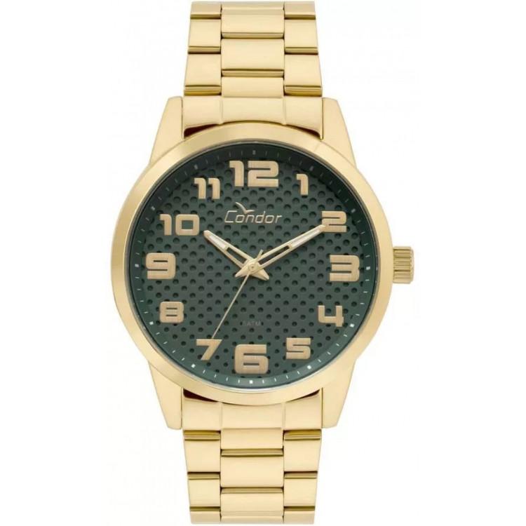 Relógio Condor Masculino Dourado - Co2036kuo/k4v- frete grátis e garantia