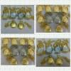 Lote/kit 10 Relógios De Bolso Prata/dourado Atacado Revenda com frete grátis